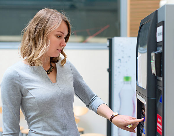 Vending machines for Salt Lake City and Northern Utah offices